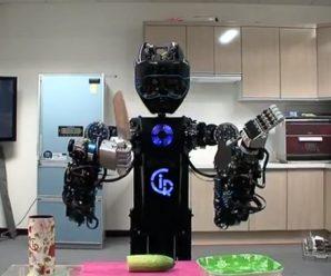 Ev İşi Yapan Robot Üretildi