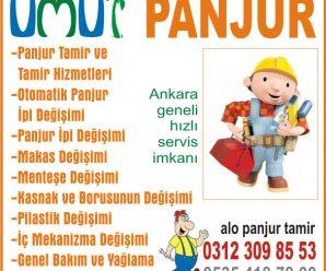 Ankara Panjur Tamiri ve Fiyatları