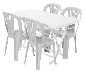 Bistro Masa Plastik Sandalye Masa Kiralama Fiyatları 444 28 46