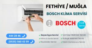 Fethiye bosch klima servisi