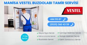 Manisa vestel buzdolabı tamir servisi