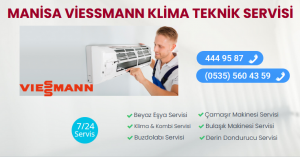 Manisa viessmann klima teknik servisi