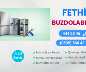 Fethiye Buzdolabı Servisi 444 28 46 |Resmi Faturalı Servis