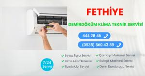 Fethiye demirdöküm klima teknik servisi