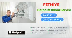 Fethiye hotpoint klima servisi