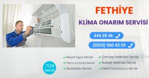Fethiye klima onarım servisi