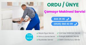 Ünye çamaşır makinesi servisi