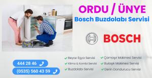 Ünye bosch buzdolabı servisi