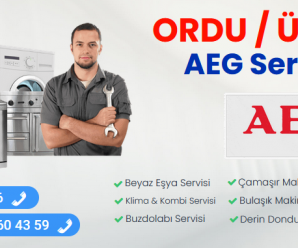Ünye AEG Servisi 444 28 46 |Teknik Servis Hizmeti