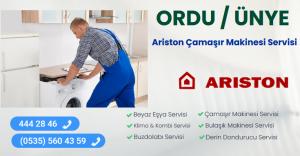 Ünye ariston çamaşır makinesi servisi