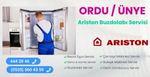Ünye ariston buzdolabı servisi