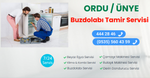 Ünye buzdolabI tamir servisi