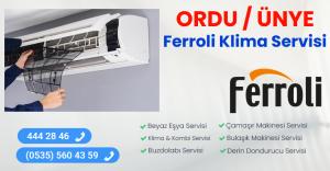 Ünye ferroli klima servisi