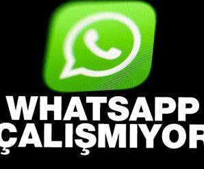 Whatsapp'a neden Girmiyor?