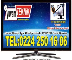 Bursa Balat (Ahmet Yesevi) Televizyon Tamircisi Tv Servisi Z. Teknik 444 95 87